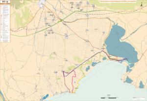 Χάρτης - Οι άθλοι του Ηρακλή